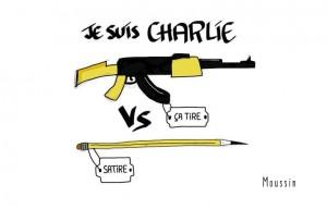 #JeSuisCharlie @Charlie_Hebdo_